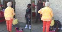 Recently, a young brother/sister duo was selling some candy outside a Target…