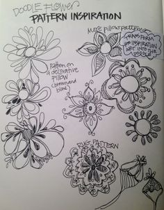 """LESSON ONE: """"Indoor Gardens"""" (video and photos) - WELCOME and LESSON ONE - Bloomin' Doodles"""