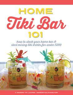 Want to start mixing some tropical drinks of your own but don't know where to begin? Can't seem to figure out how to stock your home tiki bar without breaking the bank? We've got the perfect beginner's guide in the works just for you. Click through for exclusive access to our upcoming pre-sale.