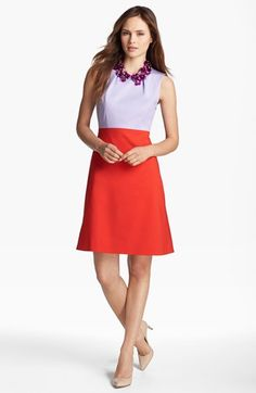 kate spade new york 'rosina' embellished a-line dress available at #Nordstrom