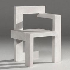 Gerrit Rietveld: Steltman Chair #exclusivedesign #luxurydesign #exclusivefurniture #goldfurniture #limitededtion #inspirationideias