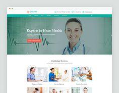 asia multispeciality hospital website template pinterest