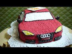видеоурок: торт машинка - YouTube