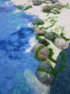 Idea for Felted Playmat