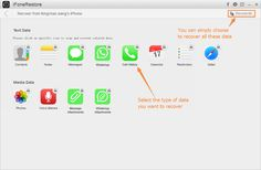 With this iPhone data recovery software, users are able to transfer the recovered Messages, Notes and Contacts directly back to their iPhones, iPads or iPod touches, which is incredibly convenient.