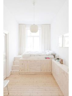 Diy Storage Bed, Bedroom Storage, Storage Ideas, Bedroom Organization, Extra Storage, Hidden Storage, Organized Bedroom, Storage Hacks, Shelf Ideas