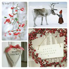 Happy Christmas. #Moodboard #Mosaic #Collage #byJeetje♡