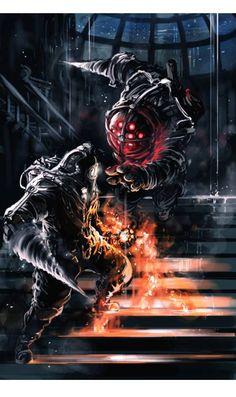 Bioshock - Big Daddy - Subject Delta i love this game ;u;