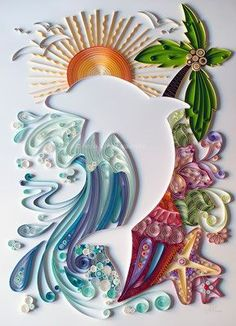 Anna Chiara Valentini - Welcome to annachia - Quilling Paper Crafts Arte Quilling, Origami And Quilling, Quilling Jewelry, Quilling Paper Craft, Paper Crafts, Paper Quilling Tutorial, Paper Quilling Patterns, Quilled Paper Art, Quilling Ideas