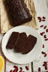 Čokoládovo-fazolový chlebíček http://www.delicious-blog-lucie.cz/2014/03/peceni-bez-mouky-cokoladovo-fazolovy.html?showComment=1394571579194