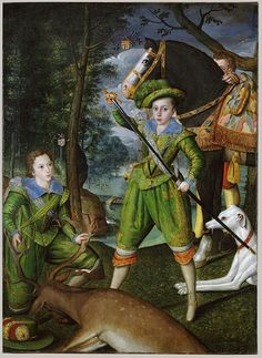 Henry Frederick (1594–1612), Prince of Wales, and Sir John Harington (1592–1614), 1603 Robert Peake the Elder (British, active by 1576, died 1619)