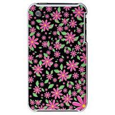 Spring Flower Pattern - iPhone 3G Hard Case