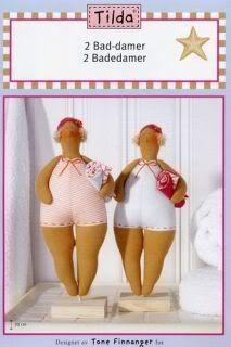 ATELIER CHERRY: rag dolls  with pattern