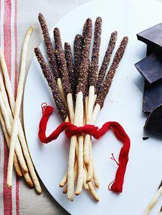 Chocolate Sticks...GIFT IN YOUR BLACK OLIVES BOTTLES