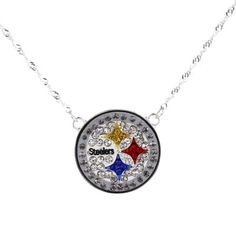 Pittsburgh Steelers Women's Crystal Necklace