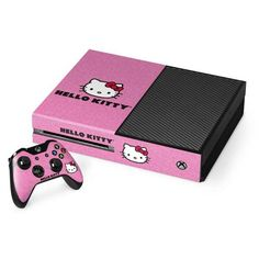 Personalize your Xbox One Console and Controller Bundle with the Hello Kitty Face Pink Xbox One Console and Controller Bundle Skin by Skinit. Buy the Sanrio Hello Kitty Face Pink Xbox One Console and Controller Bundle Skin online now. Hello Kitty Games, Hello Kitty Purse, Sanrio Hello Kitty, Toys For Us, Toys For Girls, Care Bears, Hello Kiti, Banzai Water Slide, Vetement Hip Hop