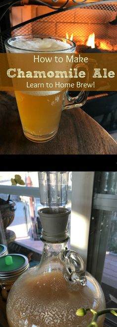 Who knew you could make beer with chammomile? This recipe comes with a step by step guide on how to brew your own!