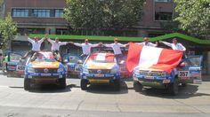 Las camionetas Amarok de los equipos peruanos lograron terminar el Dakar en buenas condiciones. (Foto: Rolando Chumpitazi, enviado especial)