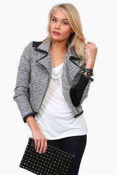Charcoal Night Jacket