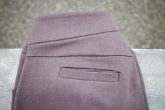 Learn to sew a welt pocket with beautifully finished seams in this post from WeAllSew.