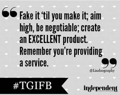 If you do monetize - what's the best advice you have for a newbie? #TGIFB