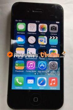 Iphone 4 Libre de 8 Gb