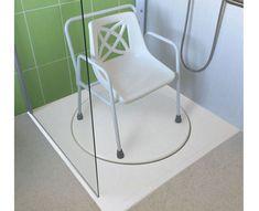 Resultado de imagem para chair in the shower