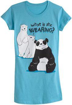 ShopStyle: Panda Costume Tee