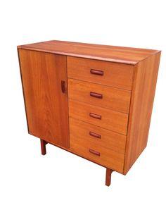 Teak Tall Dresser $425 - Toronto http://furnishly.com/teak-tall-dresser.html
