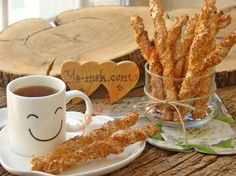 Milföyden Susamlı Çubuk Kraker Resimli Tarifi - Yemek Tarifleri