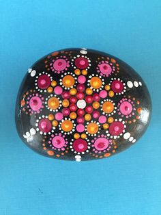 A personal favorite from my Etsy shop https://www.etsy.com/listing/235149699/mandala-painted-stone-large