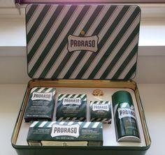 PRORASO Giftbox with 5 shaving items - Badspullen, douchegel, rituals, kneipp - Relatiegeschenken