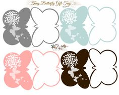 Butterfly Gift Tags Free-download