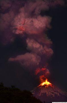 ビジャリカ山が大噴火 チリで3000人以上避難(画像)