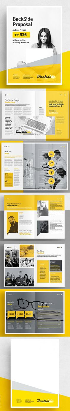 Business Proposal A4 Size Template