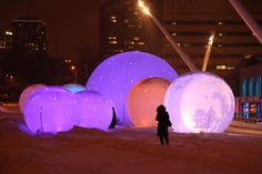 Art Installations, Light Installation, Montreal, Gate, Clouds, Polar Fleece, Art Installation, Installation Art, Cloud