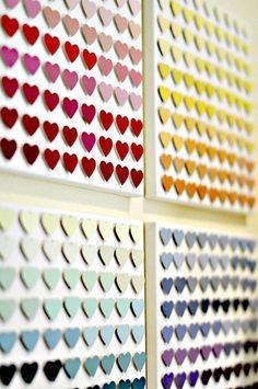 Sehe dir das Foto von FlowerPower mit dem Titel Süßes Herz Bild aus Farbkarten und andere inspirierende Bilder auf Spaaz.de an.