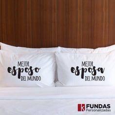 Fundas para almohada personalizadas. #pillow #almohada #YoImprimoEnKreativ