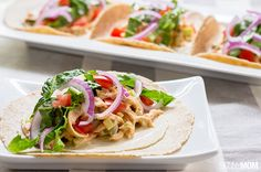 Recipe: Spicy Buffalo Chicken Wraps