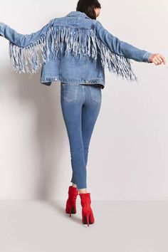 Product Name:Fringe Denim Jacket, Category:outerwear_jean-jackets, Price:32.9