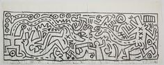 keith haring sketches