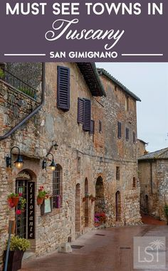 The town of San Gimignano in the countryside of Tuscany is one of Italy's prettiest towns. It also has a fascinating history - it once had 72 towers across the town. It is also home to world championship gelato... in case you needed another great reason to travel there! #ItalyPhotography #ItalyVacation #LivinginItaly #ItalyTravel