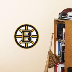 Boston Bruins Teammate Fathead Wall Graphic | Boston Bruins Wall Decal | Sports Home Decor | Hockey Bedroom/Man Cave/Nursery