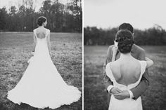 LOVE the back of this dress! oh my ME too