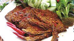 Bœuf séché ou bò khô - Le Courrier du VietNam
