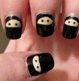 Ninja nails Ninja Nail Polish Lacquer Floam Holographic metallic effect nail polish @opulentnails #ninjanails #floam