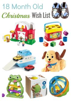 Christmas Wish List For an 18 Month Old #giftsforkids