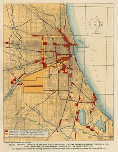 Plan of Chicago Plate 73, Burnham Plan Centennial logo origin