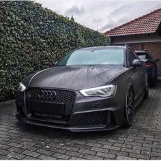 Anyone care for a mini Darth Vader? The RS3 looks stunning in this matte wrap ---- #Audi #RS3      @audirs3_ttrs_club      #audidriven - a 'state of mind' oooo #AudiRS3 #RS3Sportback #quattro #quattroGmbH #AudiSport #greyAudi #Audicolor #AudiRS #5cylinder #turbo #audisportcars #greyRS3 #audiaustria #igersvienna #audisocialmediaday