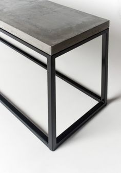 Concrete furniture designer and maker operating both in Finland and France. Dining tables, console tables, seats, sinks, countertops and customized concrete furniture. Concrete Bench, Concrete Furniture, Console Table, Dining Table, Countertops, Sweet Home, Layout, Interior Design, House